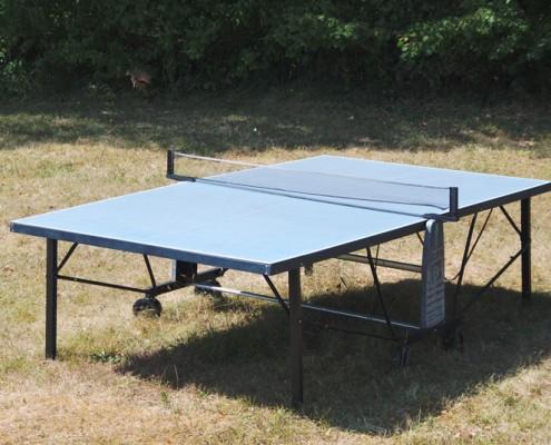 Ping pong table in black perigord